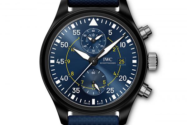 IWC万国表致敬美国海军推出蓝天使特别版腕表