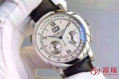 「手表回收公司」深圳罗湖哪里回收朗格万年历DATOGRAPH系列手表!
