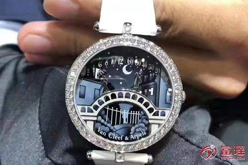 梵克雅宝诗意复杂功能系列情人桥手表