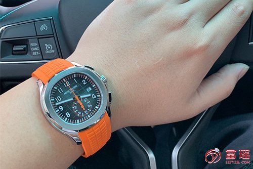 百达翡丽AQUANAUT系列5968A-001腕表效果图
