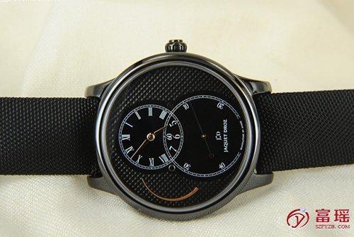 雅克德罗大秒针系列J027035541腕表回收