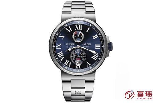 雅典表航海系列1183-122-7M/43腕表回收