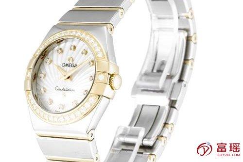 二手表交易,深圳欧米茄星座系列女士石英手表二手回收行情