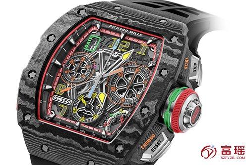 里查德米尔男士系列RM 65-01腕表价格