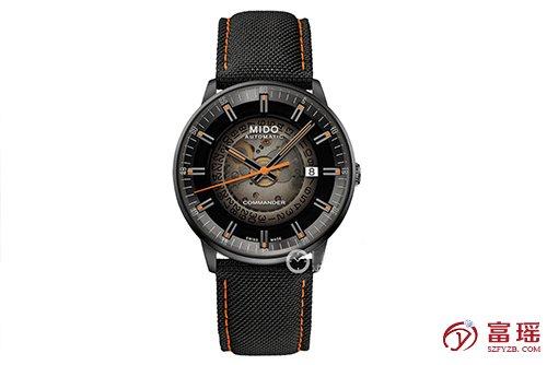 美度指挥官系列M021.407.37.411.00腕表回收